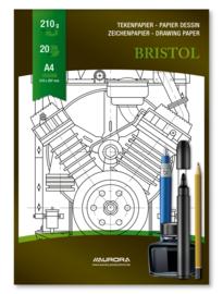 Tekenblok Bristol A4 BL14