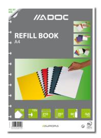 ADOC Pap-Ex A4 Navulling/Refill Geruit 5 mm papier