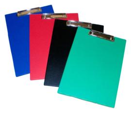 Klembord PVC gelast A4  - set van 20  - Assorti kleuren