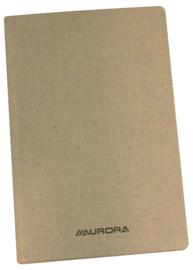 Pack of 8 x Linen Notebook 165 x 210 mm, 8mm feint, 6100S1L