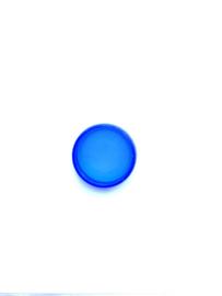 Adoc 20 mm ring Set van 48 stuks blauw transparant