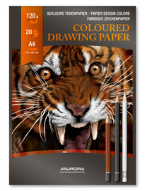 Tekenblok Colour A4 BL47