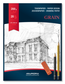 Tekenblok Grain BL8