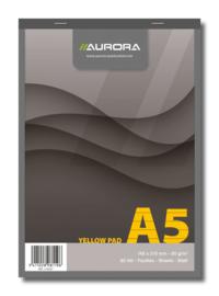 Yellow Pad A5 Schrijfblok 2180ST
