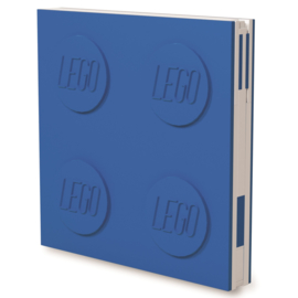 Lego Locking Notebook blauw
