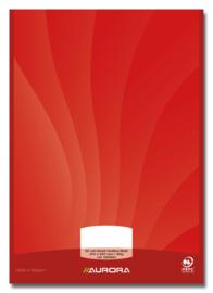 Pak van 10 x Schrijfblok A4, blanco, kopgelijmd, D50MU