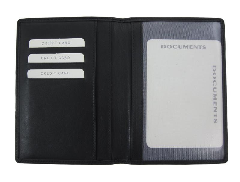 Paspoort omslag zwart Skim Protection / RFID