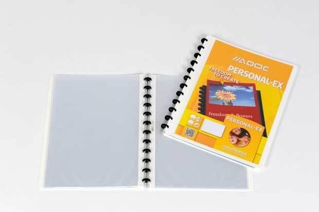 ADOC Personal-Ex A4 Display Book 30 pockets
