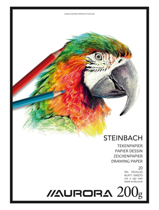 Pak van 5 x Tekenblok Steinbach A4 BL21