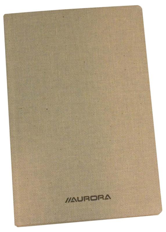Linnen Studentboeken, 1396SQ, geruit, 125 x 195 mm