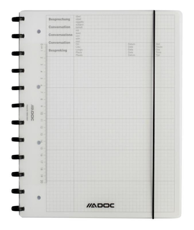 ADOC Meeting-Ex Vergader/Afspraken Notebook A4