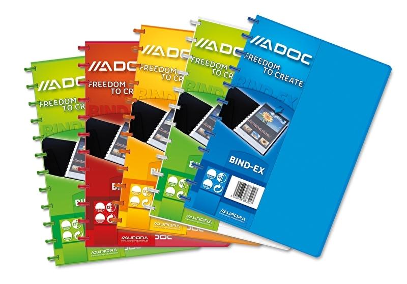 ADOC Colorlines A4 Display Book 40 pockets