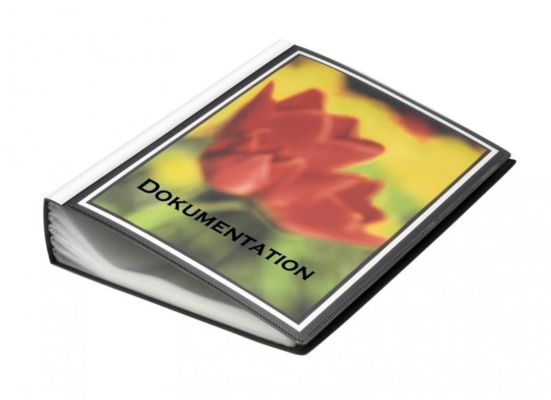 Presentatie Showmap A4 100 tassen DJ25819