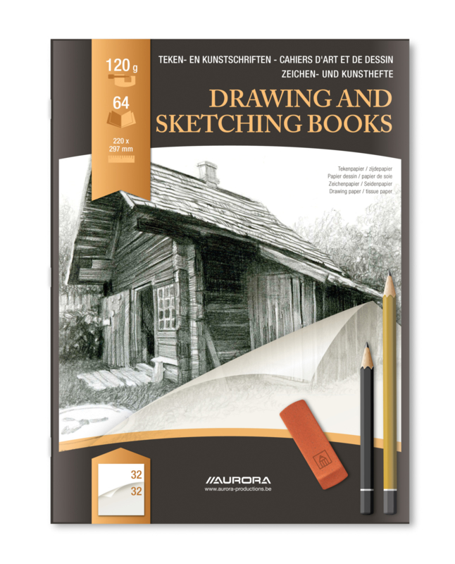 Drawing and Sketching Book A4