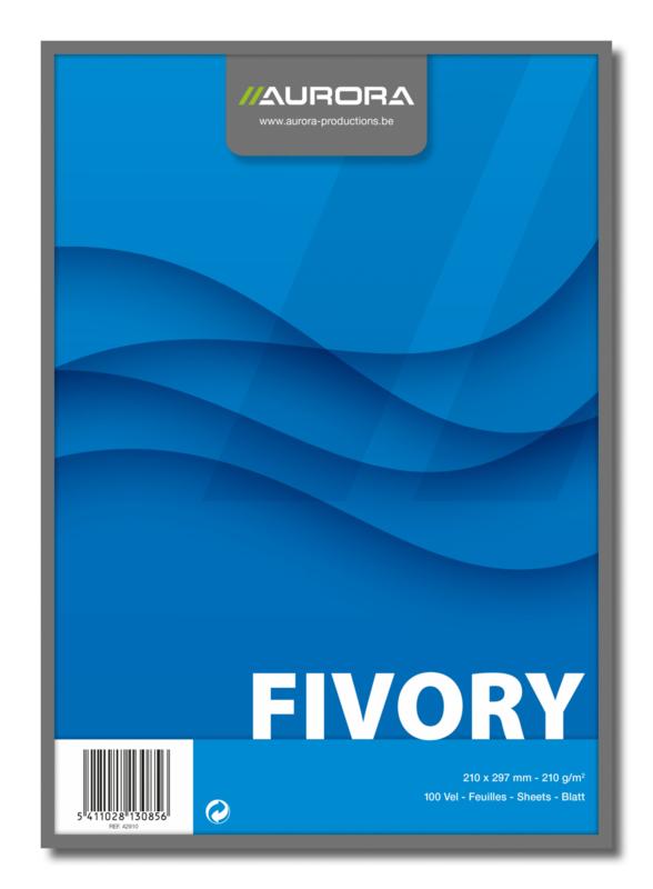 Fivory Systeemkaarten A4, blanco, 42910