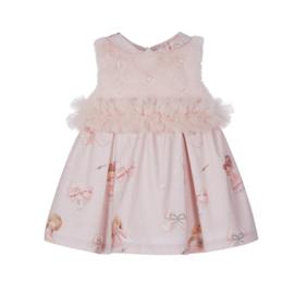Lapin House, roze jurk met ballerina's