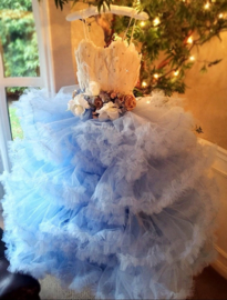 """""""Girl Meets Twirl""""... A Stunning Couture Ball Gown For The Exquisite Young Lady"""
