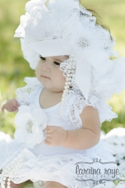 """""""All Things Serene""""...An Adorable Lace Bonnet"""