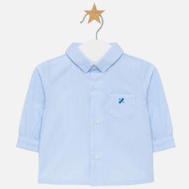 Mayoral, blauw gestreept overhemd