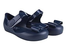 Igor, donkerblauw waterschoentjes met strik