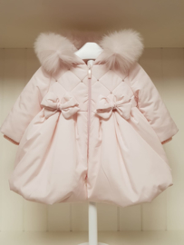 Bimbalò, roze winterjas