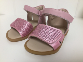 Florens, roze sandaaltjes met strass