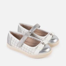 Mayoral, wit/zilveren schoenen