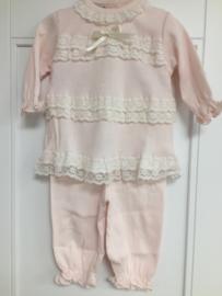 Exclusieve  roze 2-delige pyjama