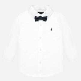Mayoral, witte blouse met strikje