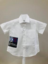 Iceberg, witte blouse