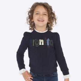 Mayoral, donkerblauwe sweater Bonita