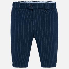 Mayoral, blauwe gestreepte broek