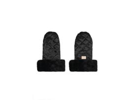 Bjällra, black velvet handschoenen