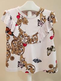 Liu Jo, wit shirt met vlinders