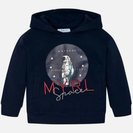 Mayoral, donkerblauwe hoodie Cosmos