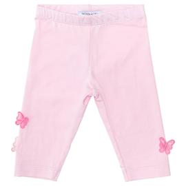 Monnalisa, roze legging met vlindertjes