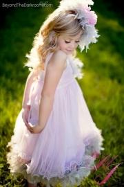 Fairy Dust Breeze Girls Feather Dress