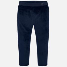 Mayoral, donkerblauwe velourse legging