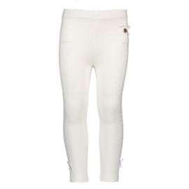 Le Chic, off white legging met strass