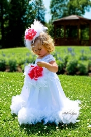 Here Comes the Bride Flower Girl Dress