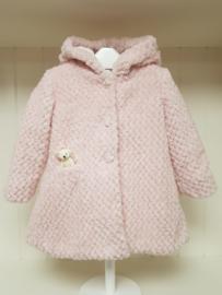 Allette, roze teddybont winterjas