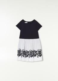 Liu Jo, jurk donkerblauw/wit