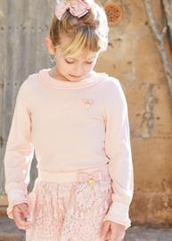 Angel's Face, top Amanda blush pink