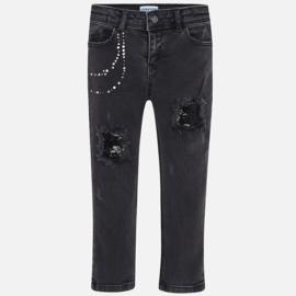 Mayoral, zwarte skinny jeans