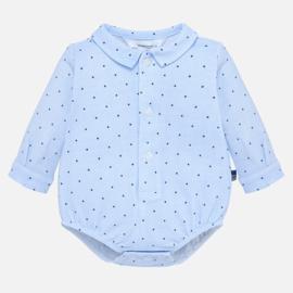 Mayoral, blauwe romper blouse