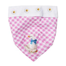 Monnalisa, roze/witte bandana