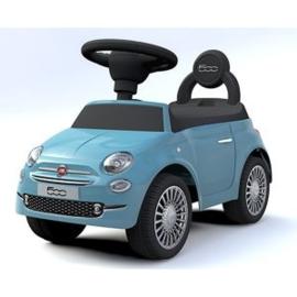 Loopauto, Fiat 500 blauw