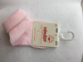 Condor, licht roze babysokjes
