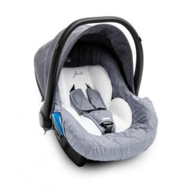 First, E-lite autostoel, blauw