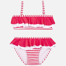 Mayoral, koraal-wit bikini